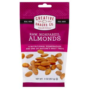 Creative Snacks - Bag Raw Almonds