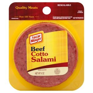 Oscar Mayer - Beef Salami Sliced 1120