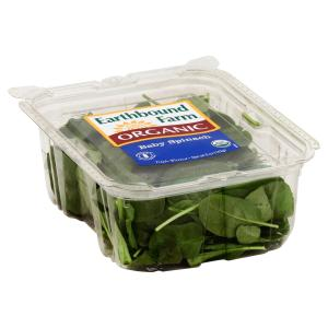 Earthbound Farm - Clamshell Baby Spinach