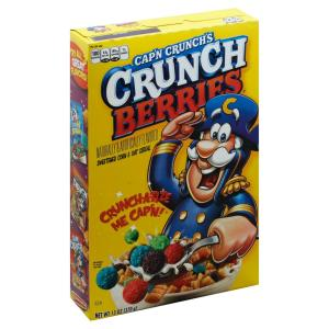 Quaker - Crunch Berries Cereal