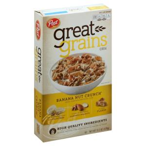 Post - Great Grains Banana Nut Crunch