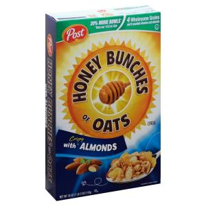Post - Honey Bunches Oats W Almonds