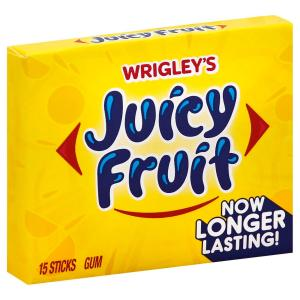 wrigley's - Juicy Fruit Slim Pack