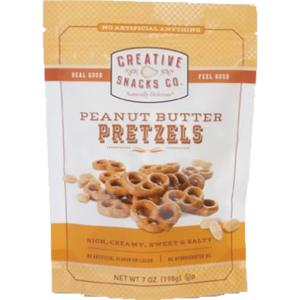 Creative Snacks - lg Bag Peanut Butter Pretzels