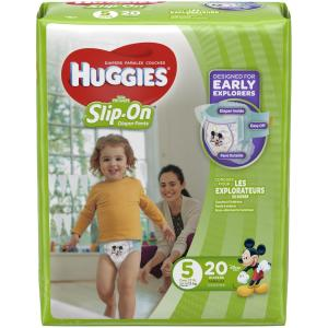 Huggies - Lil Movers Slip on Size5