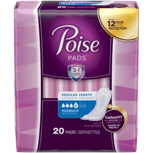 Poise - Moderate Pads