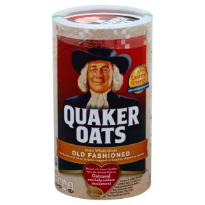 Quaker - Old Fashioned Oats Cereal
