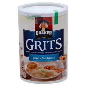 Quaker - Quick White Hominy Grits