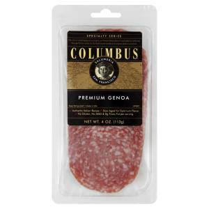 Columbus Food - Sliced Genoa Salame