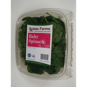 Solata Farms - Sol 5oz Baby Spinach