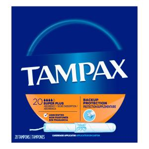 Tampax - Tampon Super Absorb Flushable