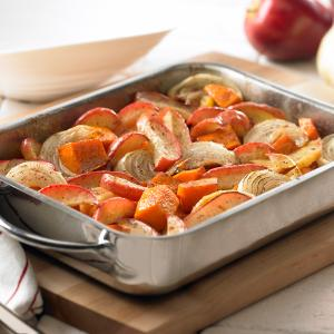 Vanilla Glazed Roasted Squash and Apples - McCormick®