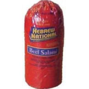 Hebrew National - Wide Salami Kosher Beef